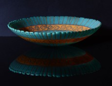 Shallow vessel; 265mm x 60mm; created June 2013